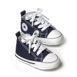 First Star Crib första steg skoar NAVY BLUE - CONVERSE