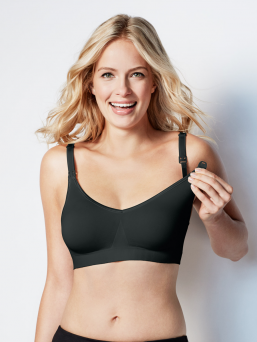 BRAVADO the body silk seamless amnings bh (svart)