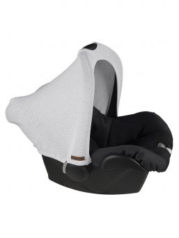 Baby's Only Classic silvergrey protective cover for baby car seat (grey), Footmuff