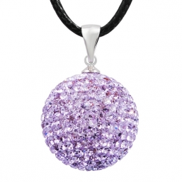 BOLA - crystal 20mm (Light Violet)