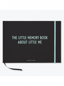 Design Letters The Little Memory book bebisbok (turkos)