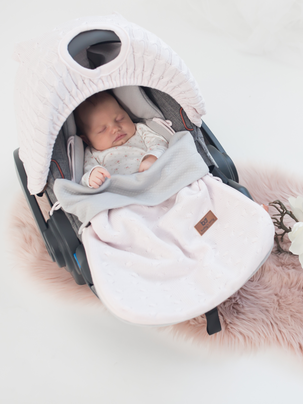 Baby's Only SOMMAR Åkpåse Maxi Cosi (classic pink)