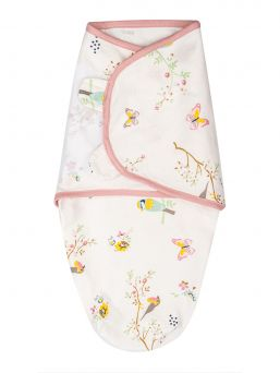 SwaddleMe Linda 0-3mån (Sakura Bloom, pink)