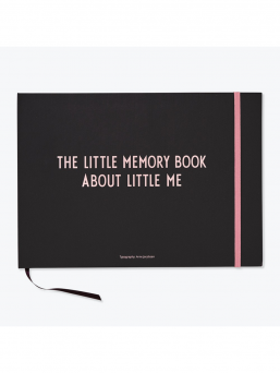 Design Letters The Little Memory book bebisbok (rosa)