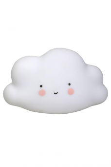 Cloud nattlampa (vit)